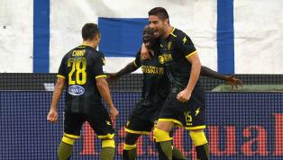 Serie A, vola il Cagliari. Pari tra Genoa e Udinese. Colpaccio Frosinone a Ferrara. Crisi Chievo!