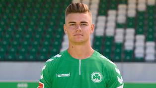 Die Spielvereinigung Greuther Fürth hat mit Daniel Steininger verlängert