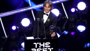 Luka Modric Hails 'Unforgettable Year' After Being Named 2018 Best FIFA Men's Player