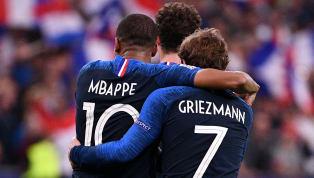 BLEUS : Les 10 meilleurs buteurs de l'Équipe de France