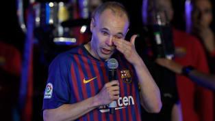 Barcelona tri ân Iniesta bằng một cách vô cùng đặc biệt