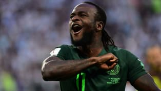 Nigeria Winger Victor Moses Announces Retirement From International Football to Focus on Club Career