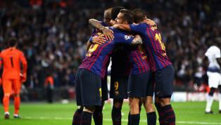Tottenham Hotspur 2-4 Barcelona: Barca Menangi Drama di Wembley