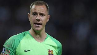 VIDEO | El curioso ritual de Ter Stegen después de cada gol del Barcelona