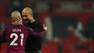 Pep Guardiola Hails Match Winner David Silva as 'One of the Best' Following Champions League Heroics