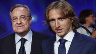 Real-Präsident Perez lästert über Inter Mailand - Modric bekennt sich zu den Königlichen