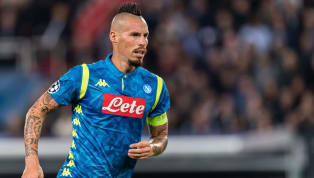 Napoli Star Marek Hamsik Breaks Club's All-Time Appearance Record During UCL Draw With PSG