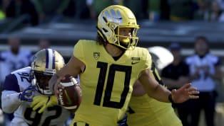 Potential No. 1 Pick Justin Herbert Expected to Return to Oregon Next Season