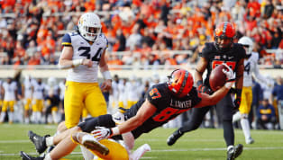Oklahoma State Holds on for Thrilling Upset Victory Over No. 9 West Virginia
