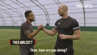 Emoji Smash: Everton's Theo Walcott Goes Rampage Mode vs DC Freestyle
