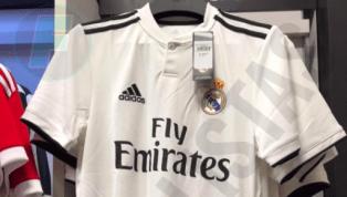 FILTRADO | Sale a la luz la tipografía de las camisetas del Real Madrid para el próximo año