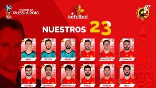 กระทิงดุ เมินสตาร์ สิงห์-ผี ! ประกาศรายชื่อ 23 แข้ง สเปน โม่แข้ง รัสเซีย 2018