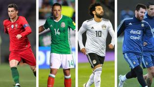 ¡MATONES!   Los 10 jugadores con más chances de quedar goleador del Mundial de Rusia