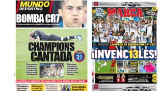 La victoria merengue en la final de la Champions en las portadas