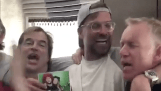 VIDEO: Jurgen Klopp Remains in High Spirits as He Belts Out Song With Fans Despite UCL Defeat