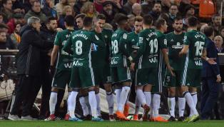 Betis - Málaga   Alineaciones confirmadas