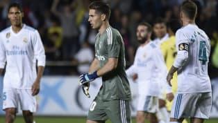 Las declaraciones de Luca Zidane tras su debut ante el Villarreal
