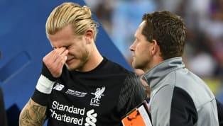 Steven Gerrard Consoles Loris Karius After Champions League Final Nightmare