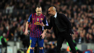 Italian Report Suggests Pep Guardiola Has Contacted Andrés Iniesta Over Potential Man City Move