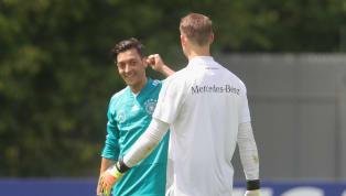 Ozil dan Neuer Siap Tampil Kontra Meksiko