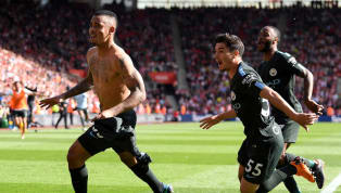 Southampton 0-1 Manchester City: Last-Gasp Jesus Winner Takes City to Magical 100 Point Mark