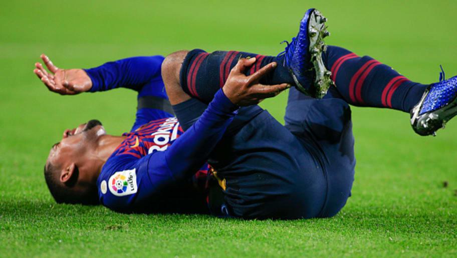 Barcelona confirma lesão de Malcom no tornozelo direito 5c092494301847acfa000001