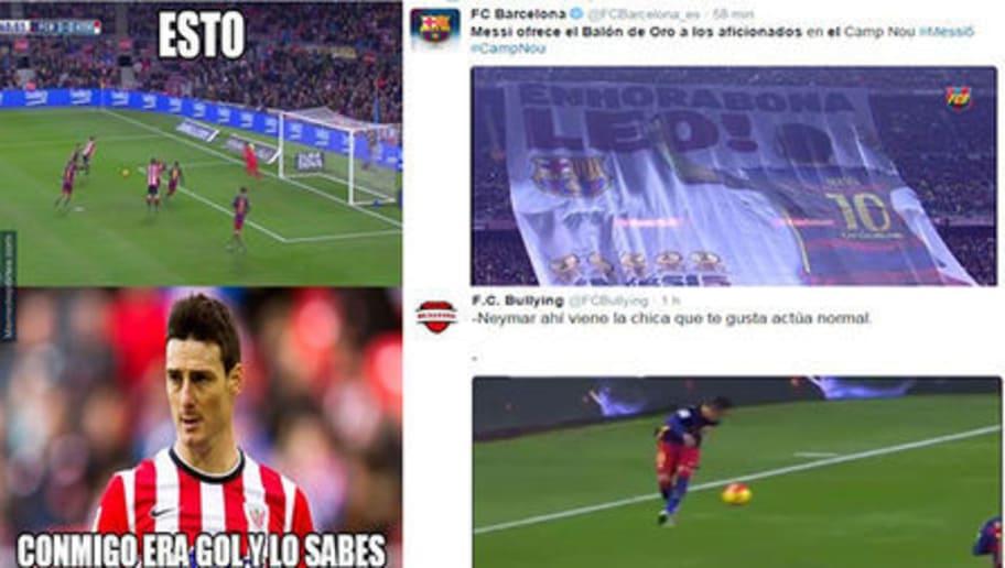 Los mejores tweets del Barcelona 6-0 Athletic  37c840b9da2fc