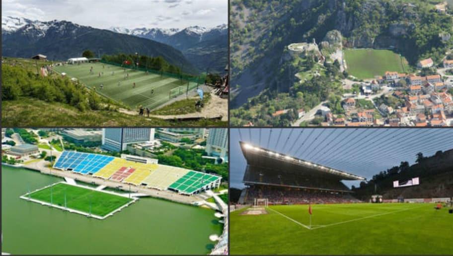 10 estadios que parecen de fantasía pero existen en el mundo real ...