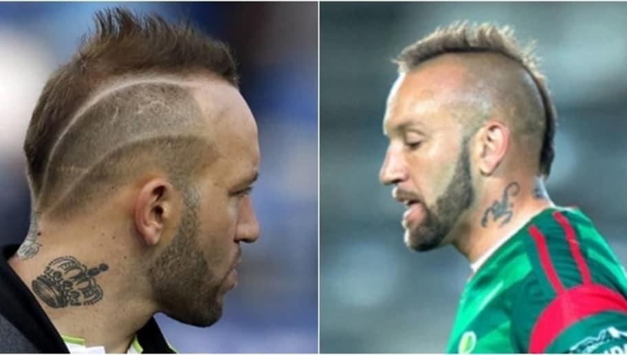 Cortes de cabello de jugadores de futbol