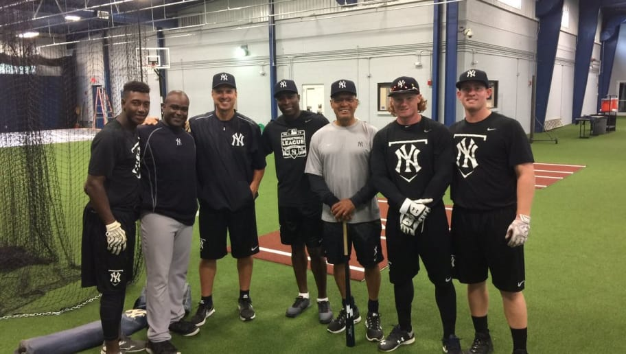 Clint Frazier Turning Heads In Yankees Instructional League 12up