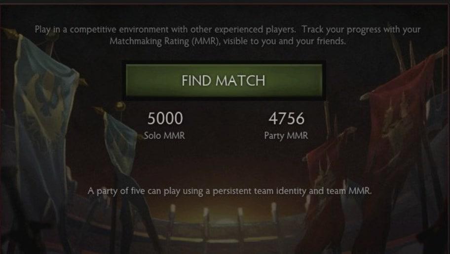Dota 2 matchmaking logic