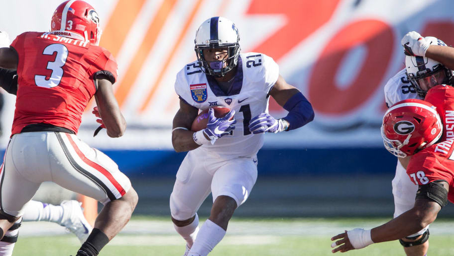 TCU's Leading Rusher Arrested at Whataburger | 12up