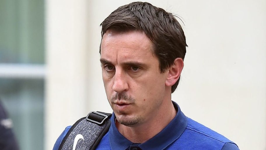 Gary Neville Raises Eyebrows After Claiming Former Liverpool Star