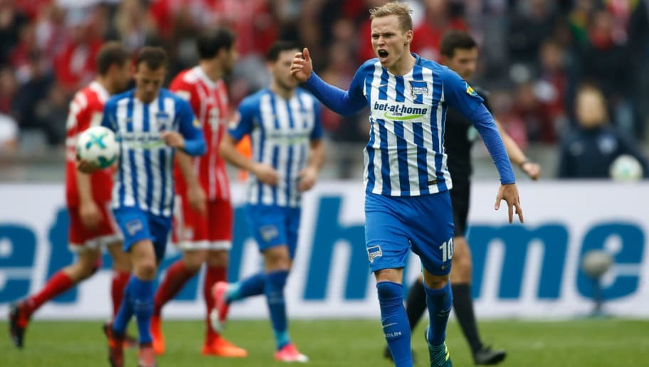 Image result for hertha bayern 2-2 Duda