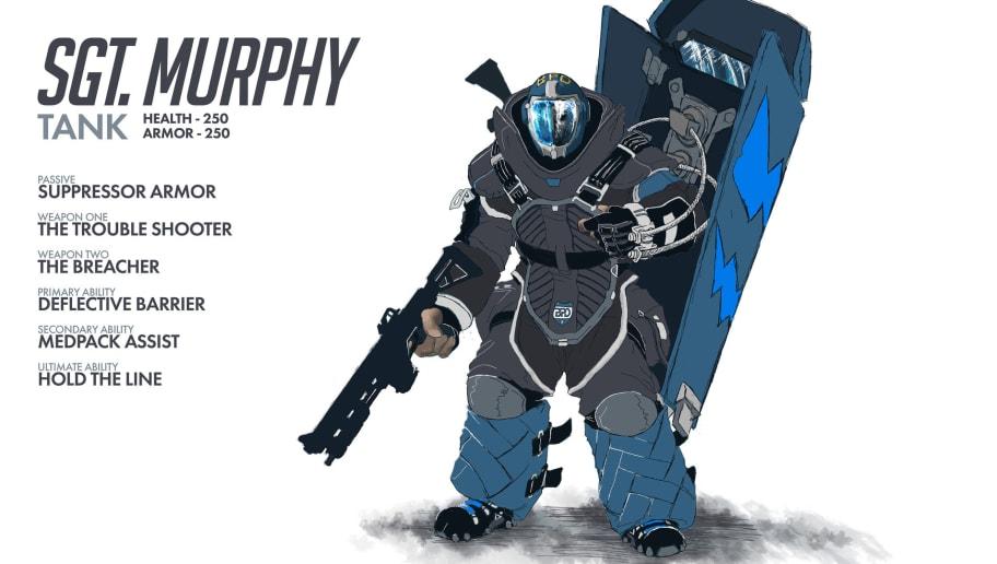 Pubg Hero By Gilbertgraphics: Fan Designs Elaborate New Overwatch Hero