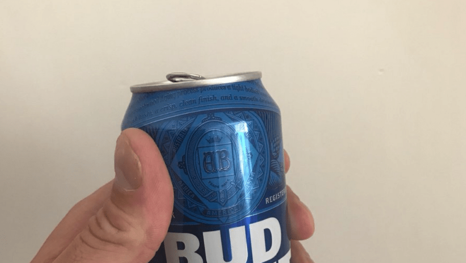 Lane Johnson Makes Bud Light Can Look Shockingly Small In His Hand