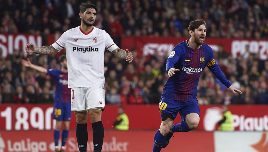 Image result for barcelona vs sevilla
