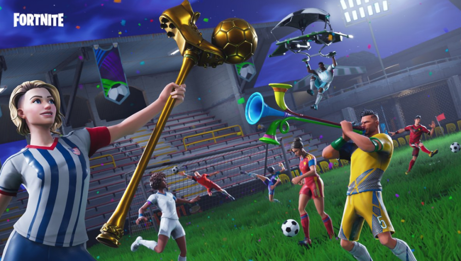 Epic Games Releases New Soccer Themed Fortnite Skins in ...