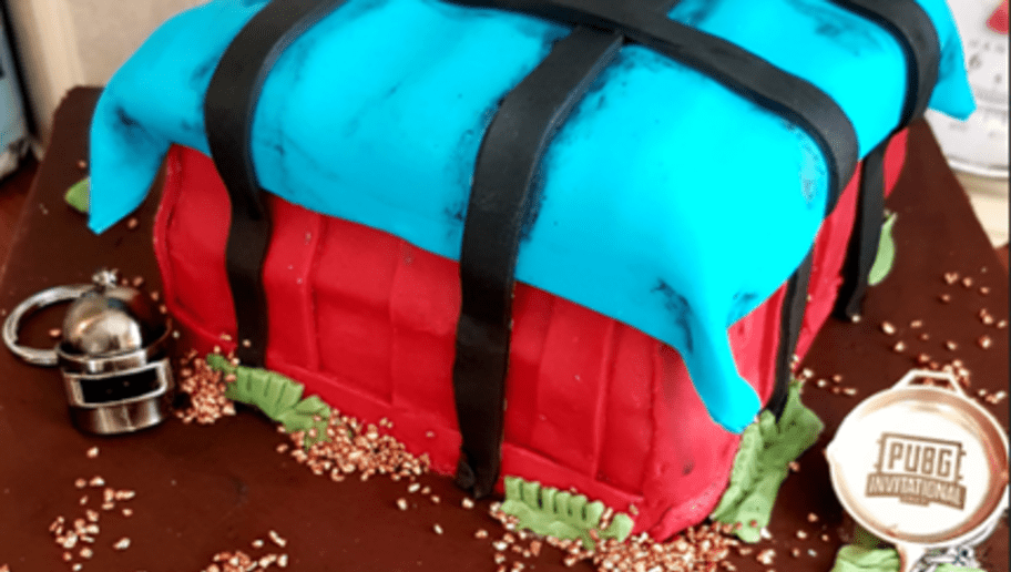 Pubg Themed Cake Made For Husbands Birthday Dbltap