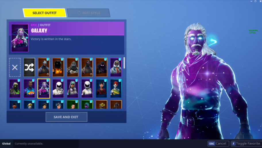 How to unlock the galaxy skin in fortnite battle royale dbltap - Fortnite galaxy skin free ...