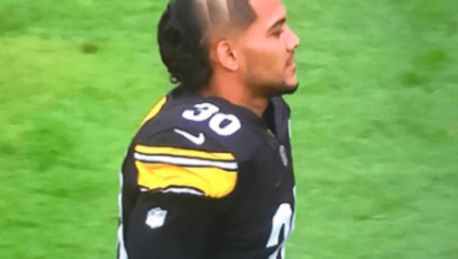Steelers Rb James Conner Is Rocking The Weirdest Haircut Ever 12up