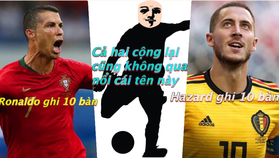 Top 5 chân sút khủng ở ĐTQG 2018: Ronaldo, Hazard chào thua sao MU