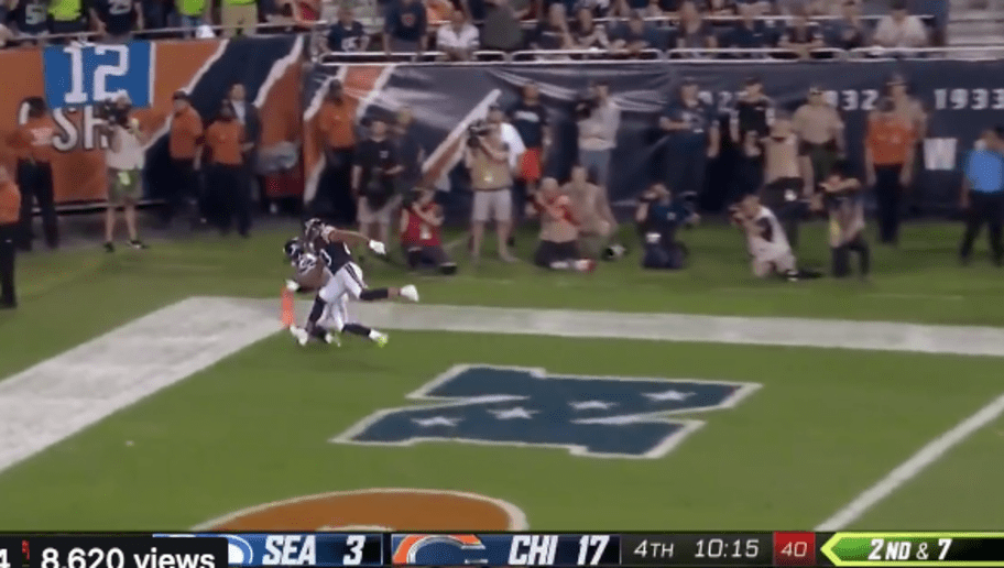 Video Russell Wilson Throws Absolute Dime To Tyler Lockett