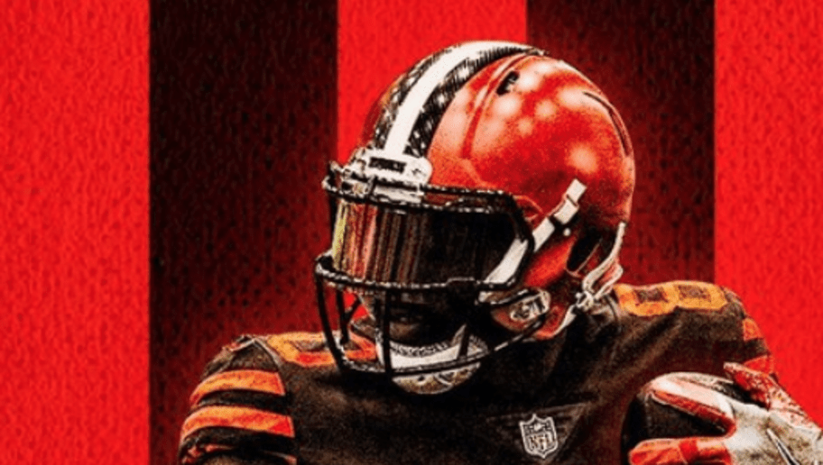 f8fb3b78f wholesale mens nike jabrill peppers brown cleveland browns color rush  legend jersey baf3d ff243  discount browns ruining their good fortune by  wearing ugly ...