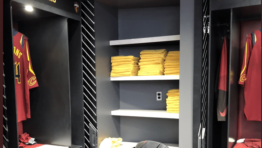 LeBronu0027s Old Locker In Cleveland Is Now A Towel Closet
