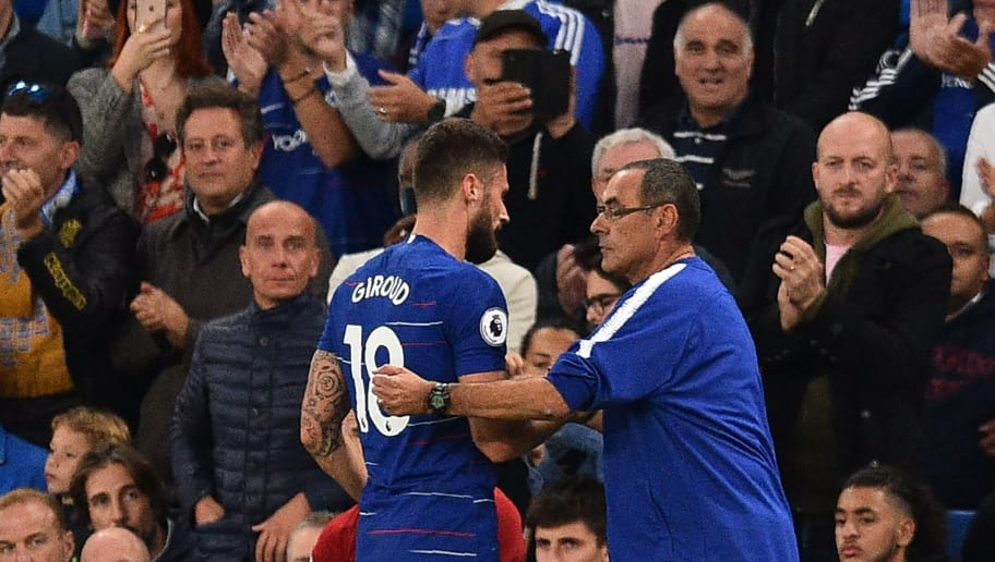 Maurizio Sarri: 'Chelsea didn't play well in Europa League'