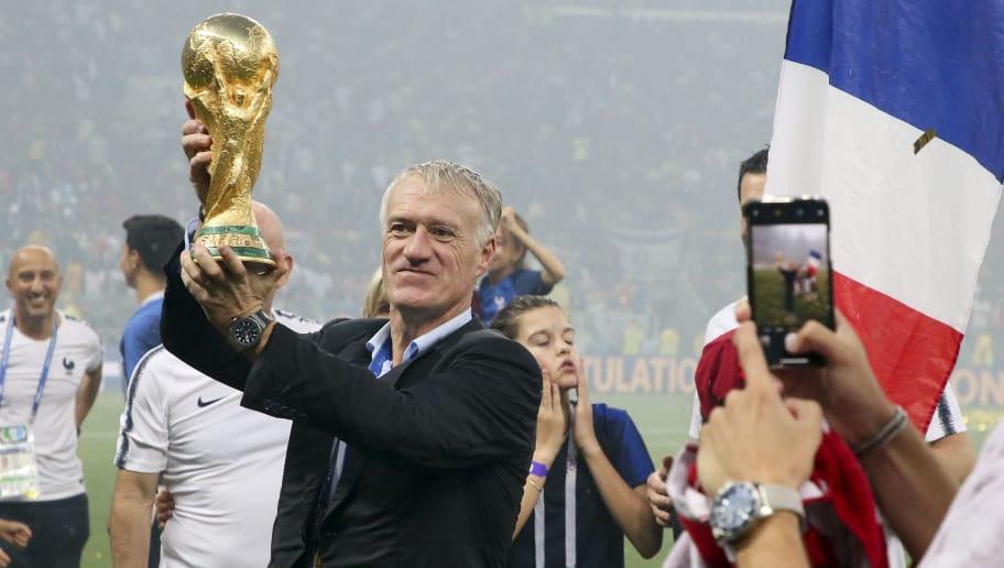 """Résultat de recherche d'images pour """"mondial 2018, Didier Deschamps, winner, 2018"""""""