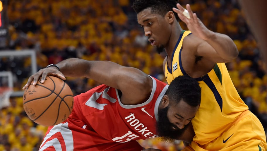 NBA Players Vote James Harden as MVP and Donovan Mitchell as Rookie of the Year | 12up