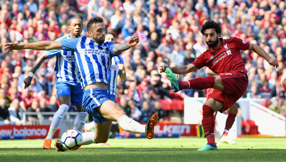 Liverpool top after Salah goal sinks Brighton