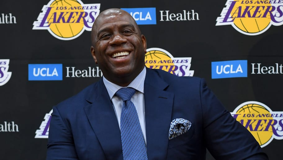 magic johnson says lebron is a lot like him when it comes. Black Bedroom Furniture Sets. Home Design Ideas